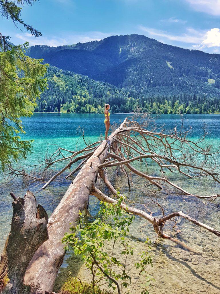Weißensee, Weissensee, Kärnten, Österreich, Bergsee, Badesee, Berge, wandern