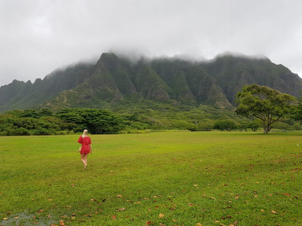 Insel, Oahu, Hawaii, Kualoa Ranch