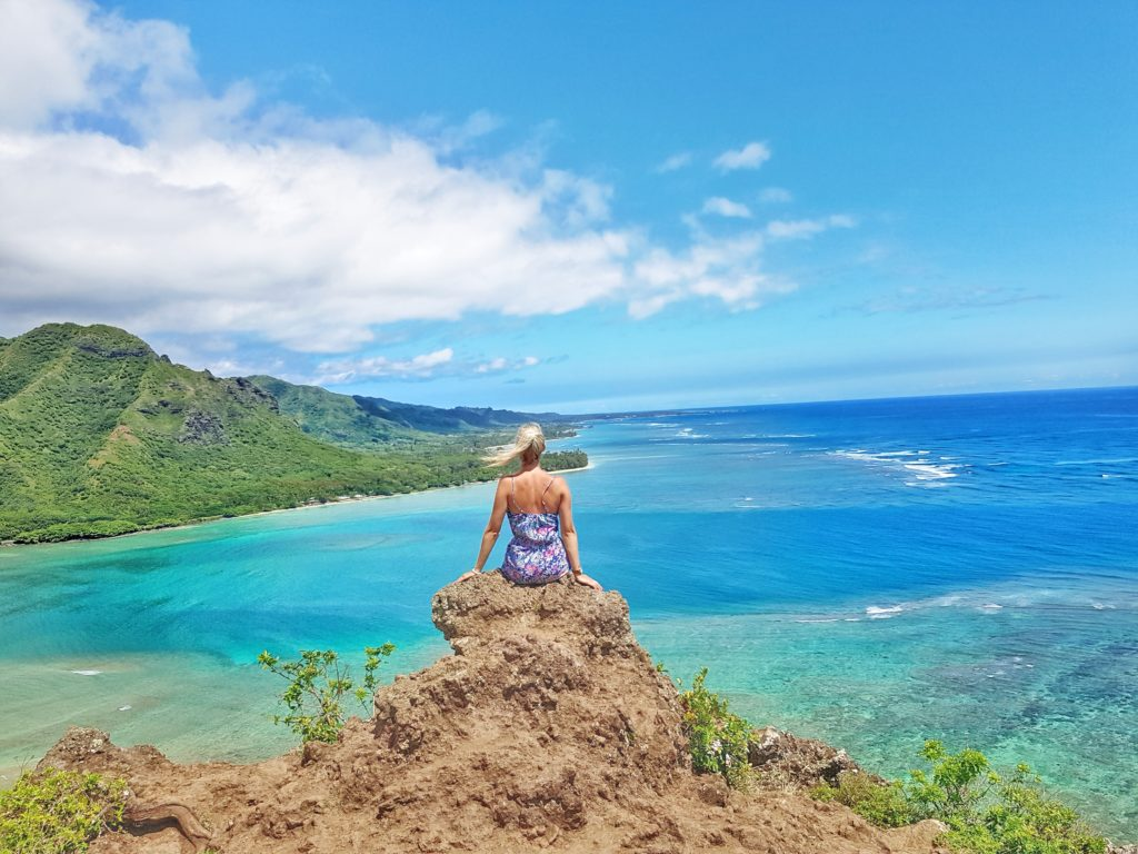 Insel, Oahu, Hawaii, Wandern auf Hawaii, Crouching Lion Hike