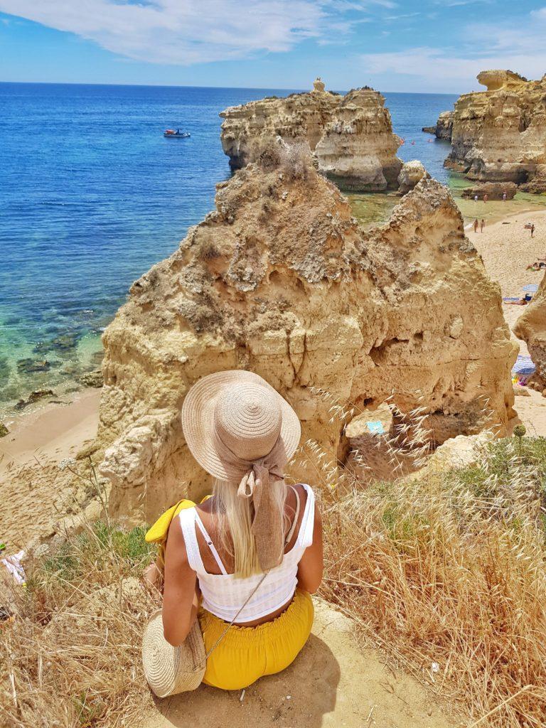 Algarve, Portugal, Beach, Strand, Praia de Sao Rafael