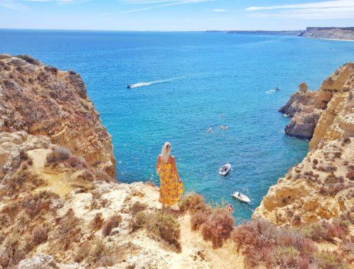 Algarve, Portugal, Klippen