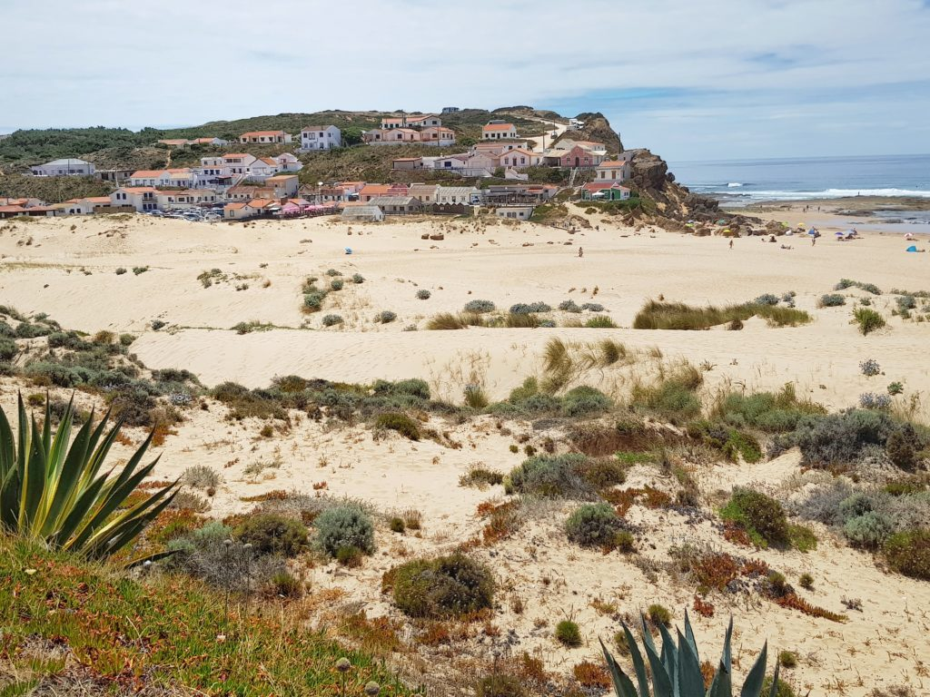 Portugal, Algarve, Strand, Westküste, Praia de Monte Clerigo