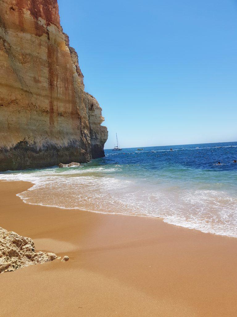 Portugal, Algarve, Klippen, Strand, Praia Benagil, Benagil Cave