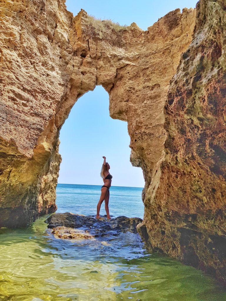 Portugal, Algarve, Klippen, Strand, Lagos
