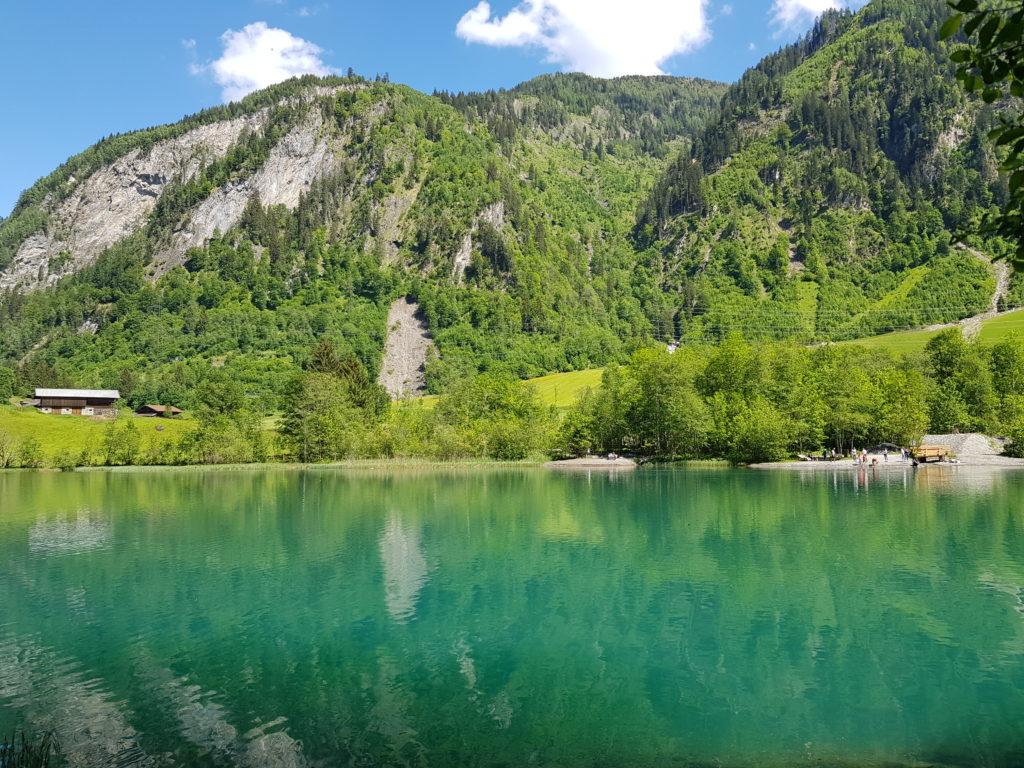 Zell am See Kaprun, Salzburg, Österreich, Berge, Klammsee