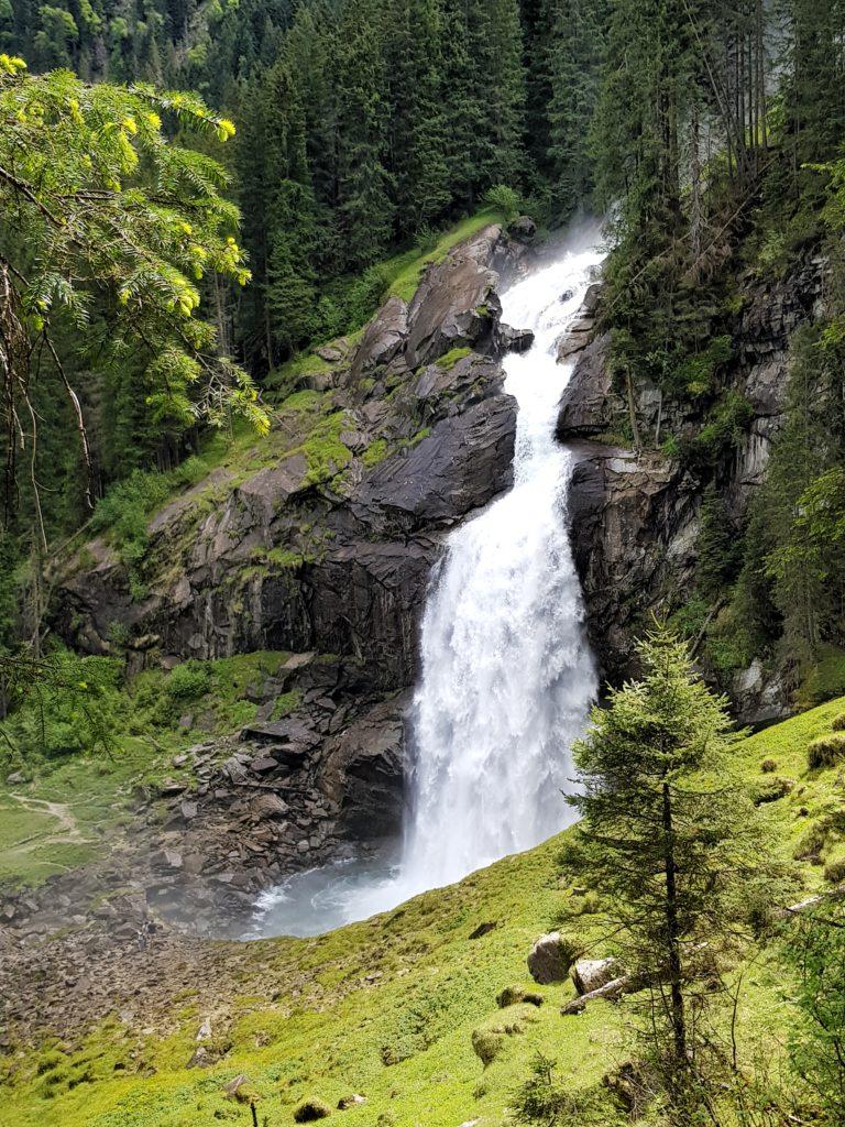 Zell am See Kaprun, Salzburg, Österreich, Krimmler Wasserfälle