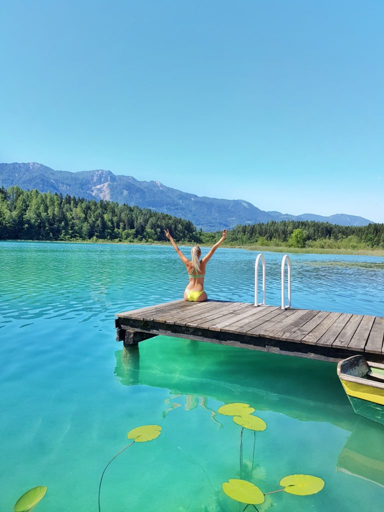 Faaker See, Kärnten, Österreich, Badesee
