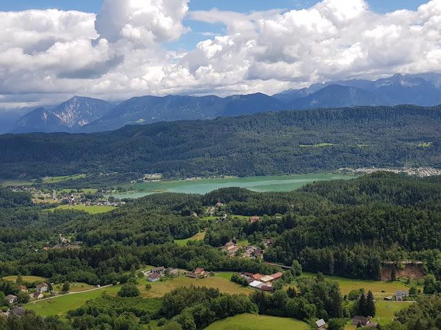 Velden, Wörthersee, Kärnten, Österreich, Pyramidenkogel