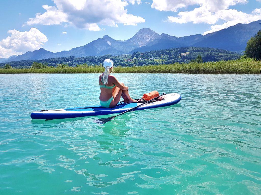 Faaker See, Badesee, Österreich, Kärnten