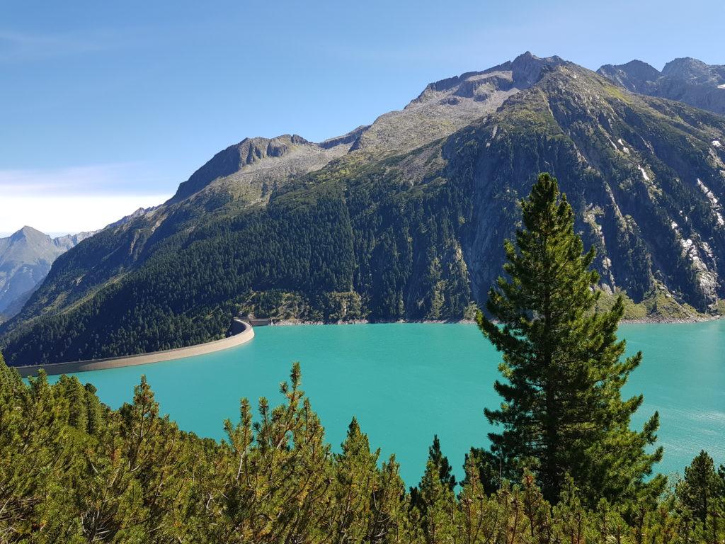 Zillertal, Olperer Hütte, Wanderung, Österreich, Tirol, Zillertaler Alpen, Schlegeis Speicher, Schlegeis Stausee