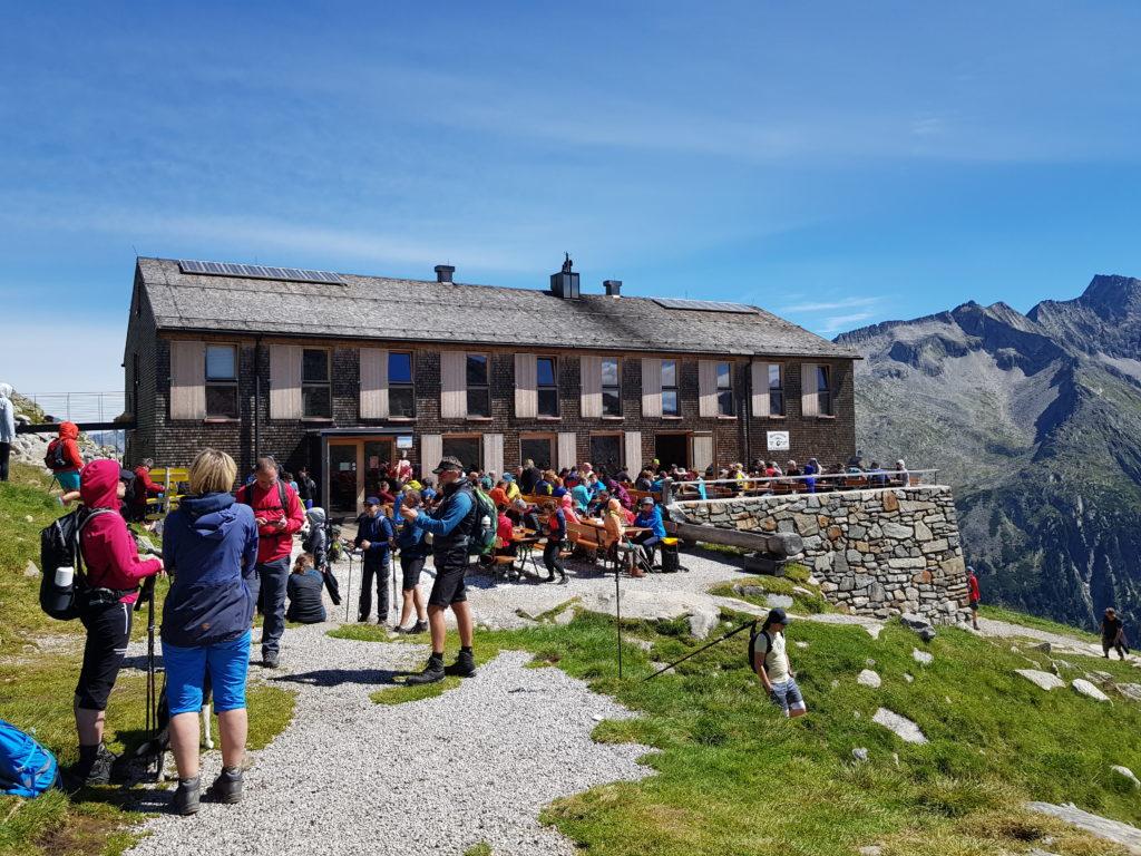 Zillertal, Olperer Hütte, Wanderung, Österreich, Tirol, Zillertaler Alpen, Schlegeis Speicher, Schlegeis Stausee, Panoramabrücke