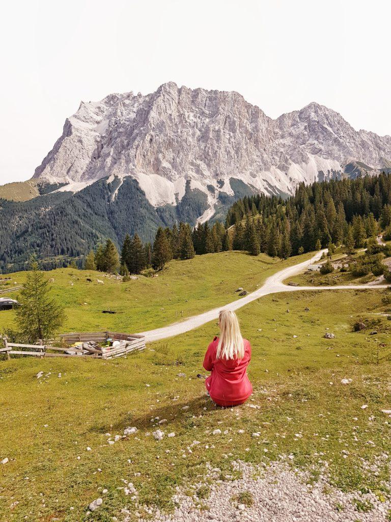 Ehrwalder Alm, Wandern, Österreich, Tirol, Seebensee
