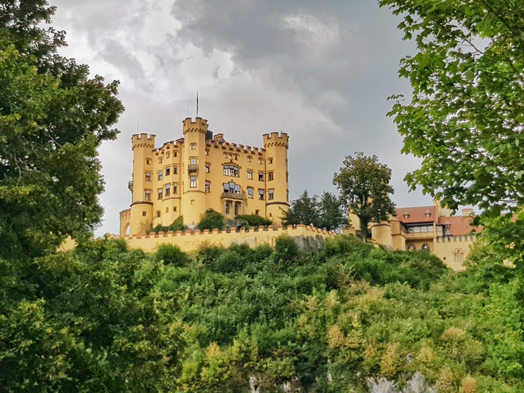 Schloss Hohenschwangau, Schwangau, Königsschlösser, Bayern, Allgäu, Deutschland