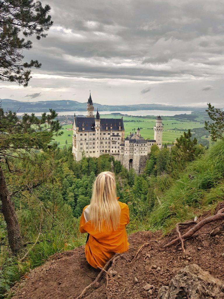Schloss Neuschwanstein, Schwangau, Königsschlösser, Bayern, Allgäu, Deutschland