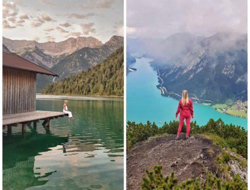 Aussicht Plansee und Achensee in Tirol