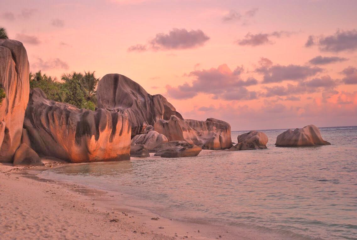 Seychellen, Seychelles, La Digue, Anse Source d'Agent
