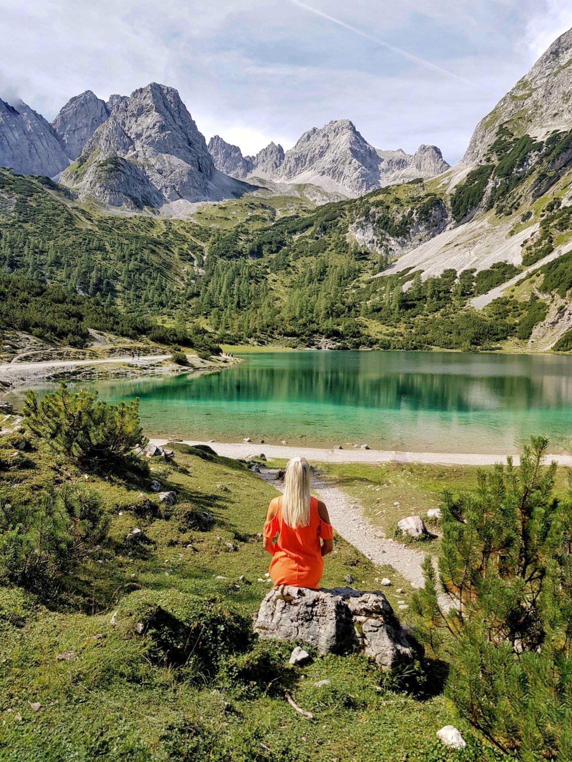 Ehrwaldalm, Seebensee, Wandern, Österreich, Berge