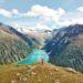 Drohnenfoto, Zillertal, Wanderung, Österreich, Tirol, Olperer Hütte
